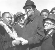 Albert Shanker and Martin Luther King