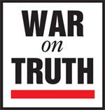 War on Truth logo