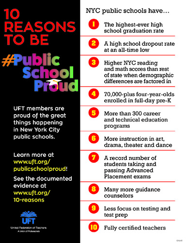 10 Reasons to be Public School Proud photo