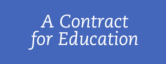 A contract for Education