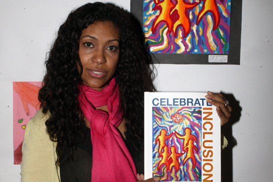 Maria Reynoso, a special education art teacher at IS 218, Manhattan.