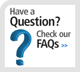 Have a question? Check our FAQs
