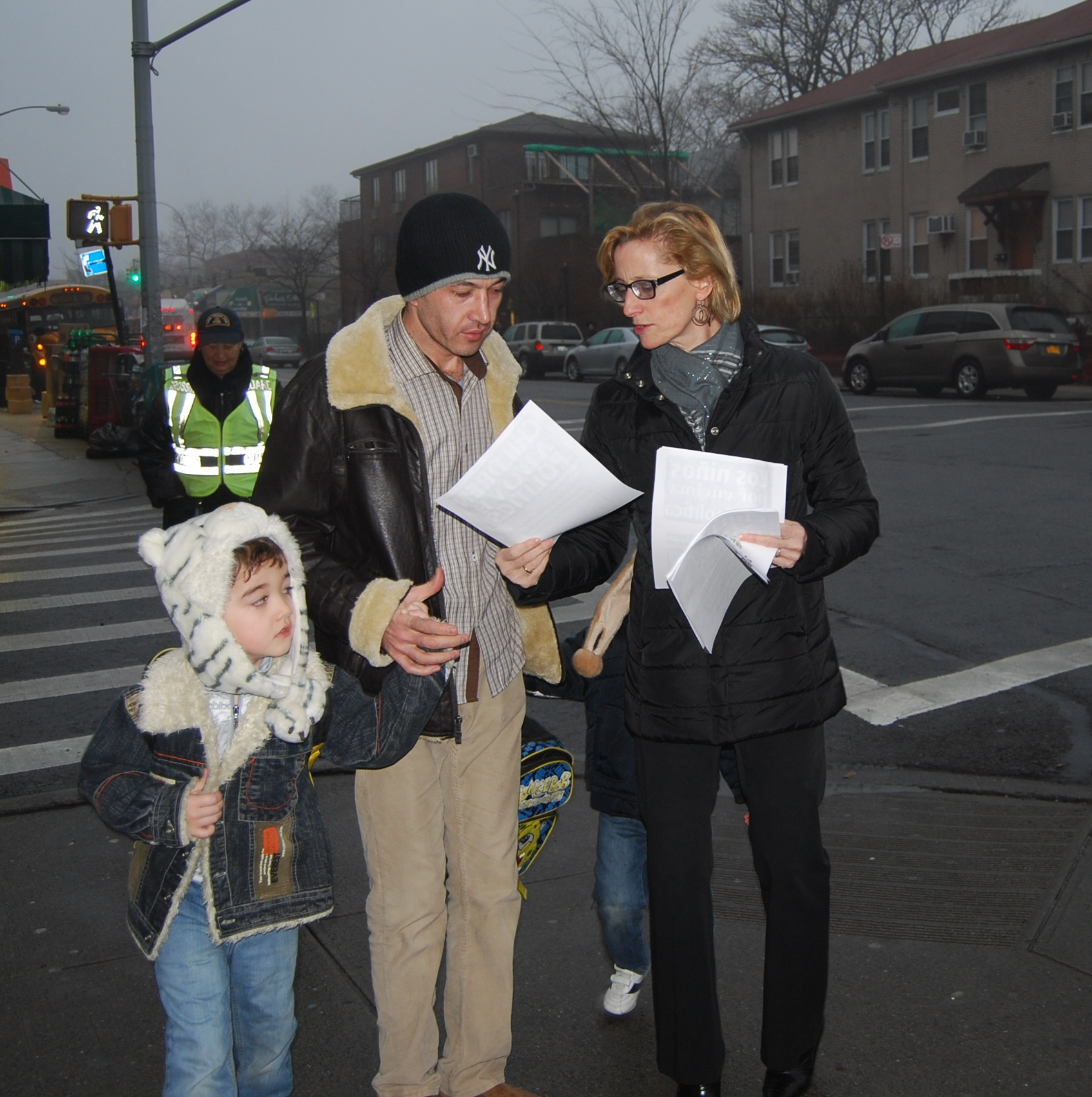A PS/IS 192, Brooklyn, educator lets a parent know where the UFT stands on teacher evaluations.