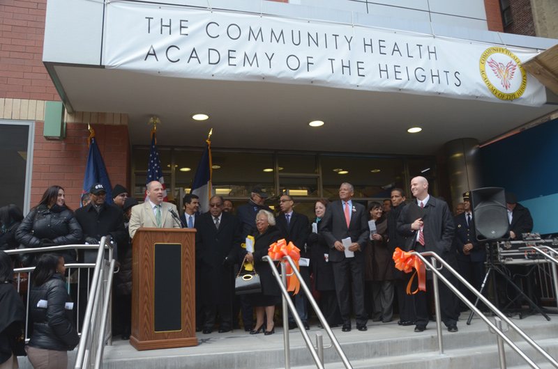 community health academy of the heights ribbon cutting
