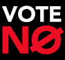 Vote no Action Alert graphic