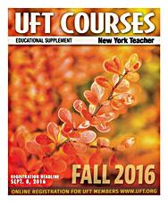 Fall 2016 Course Catalog cover