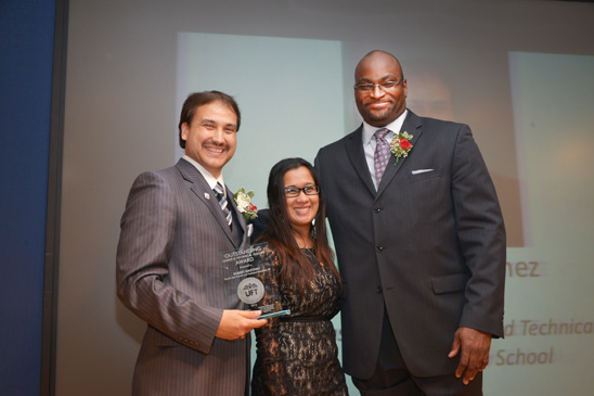 Robert Martinez, Tina Balgobin and Sterling Roberson. (Miller Photography)