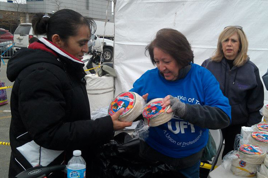 Chapter Leader Dolores Lozupone of 