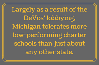 DeVos - charters in Michigan