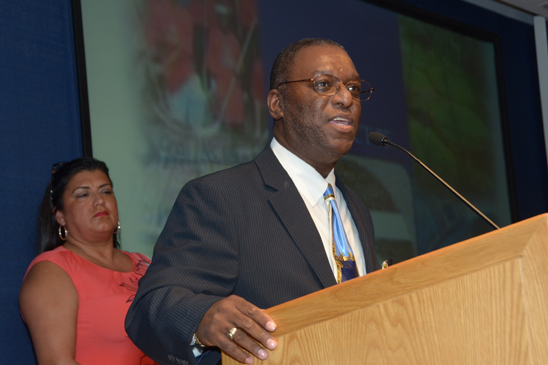 District 75 Special Representative Reginald Colvin (Miller Photography)
