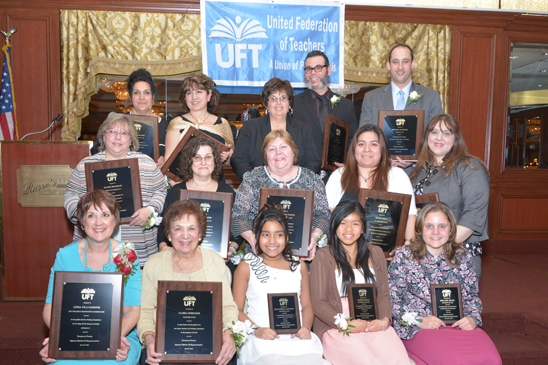 All the evening's award recipients (Miller Photography)