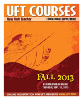 Fall 2013 Course Catalog cover