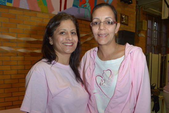 Sandra Electra Rodriguez, the chapter leader at PS 151 and Evelyn Negron, the chapter leader at PS 225, both in Queens. (Miller Photography)