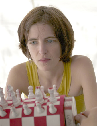 Elizabeth Spiegel, chess teacher at IS 318.
