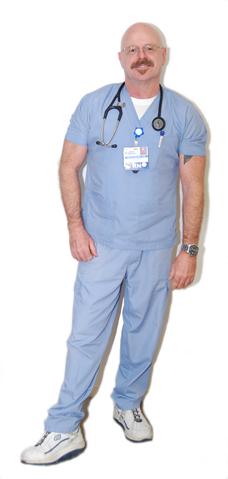 Howard Sandau, registered nurse