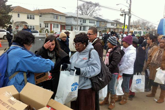 Day of Action in the Rockaways.