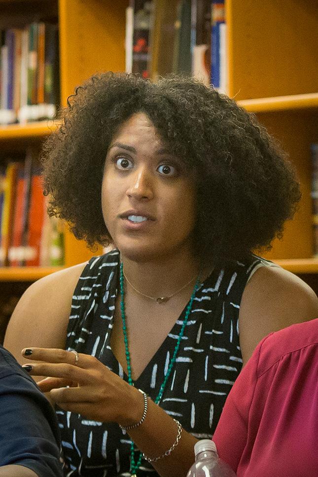 Global history teacher Yolanda James joins the conversation.