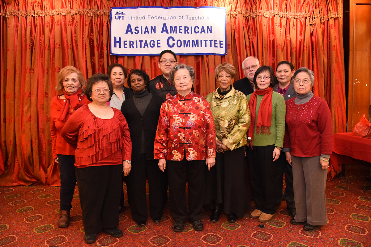 UFT Asian-American Heritage Committee Lunar New Year Banquet