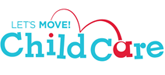 Let's Move Child Care logo