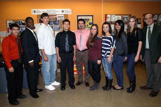 Virtual Enterprise at Staten Island's New Dorp HS