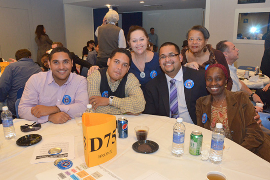 Members from PS 138 in the Bronx. (Miller Photography)