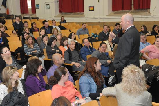 Mulgrew visits PS 226, Brooklyn   United Federation of ...
