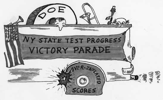 NY State Test Progress Victory Parade