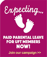 Parental leave campaign sidebar promo graphic