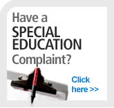 Have a Special Education Complaint?