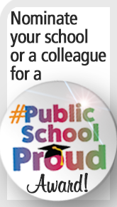 Public School Proud award nomination sidebar graphic