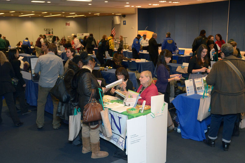 The fair gave UFT members, parents and administrators the opportunity to gather
