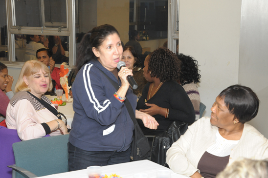 Paraprofessional Barbara Molina from Halsey JHS in Rego Park (Miller Photography)