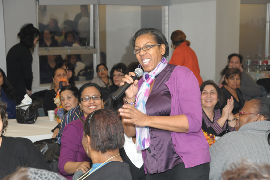 Paraprofessional Jeanette Hobbs from PS 139 in Rego Park (Miller Photography)