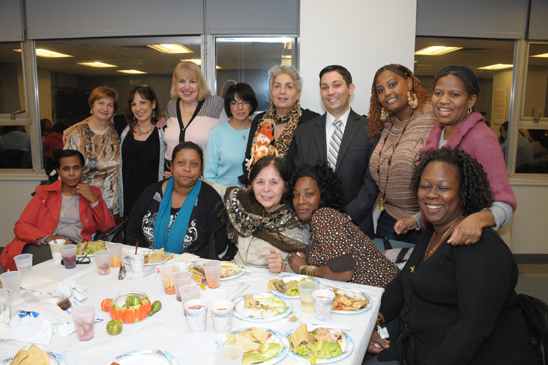 School related personnel from PS 206 in Rego Park (Miller Photography)