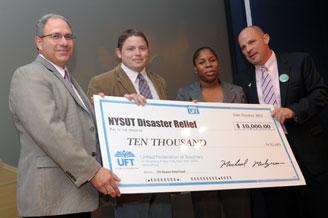 NYSUT Executive Vice President Andy Pallotta, Schoharie Teachers Association Pre