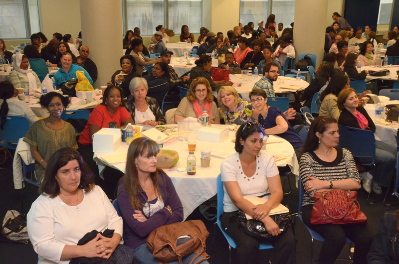 Scores of UFTers attend health and safety sessions ...