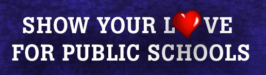 Public School Proud - Show your love graphic