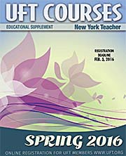 Spring 2016 Course Catalog cover