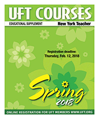Spring 2018 Course Catalog cover