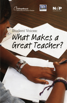 Student Voices: What Makes a Great Teacher?