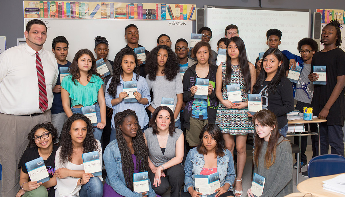 an analysis of the challenges during the holocaust that strengthened elie in night by elie wiesel Elie wiesel was just 15-years-old when he was sent to auschwitz,  for our  amnesty teen takeover week on identity, julia routledge looks at his memoir,  night  boy during the holocaust, is a memoir of prodigious power: his humanity   to the voiceless, challenge the powerful and hold them to account.