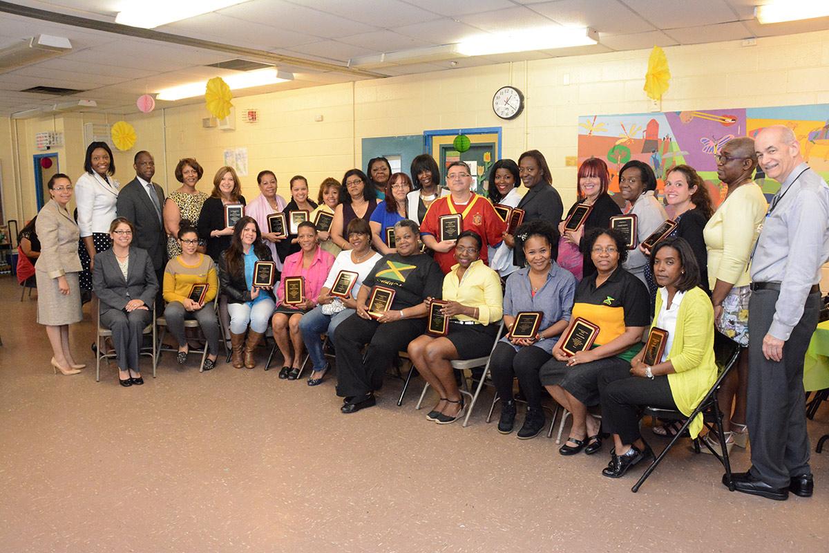 Teacher Appreciation Day celebration at PS 53, the Bronx ...