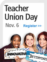Teacher Union Day sidebar promo 2016 - 1