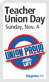 Teacher Union Day - promo sidebar - 2018
