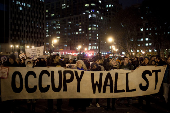 Thousands in Foley Square show that they are firmly behind the Occupy Wall Stree