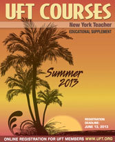 Summer 2013 Course Catalog Cover