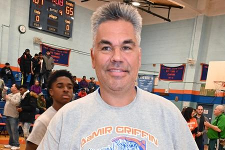 Cardozo junior varsity coach Kyrk Peponakis organized the event.