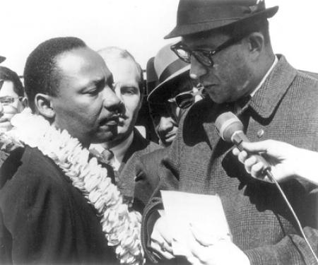 Albert Shanker and Martin Luther King Jr