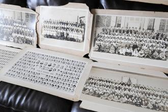 Class photos through the ages.