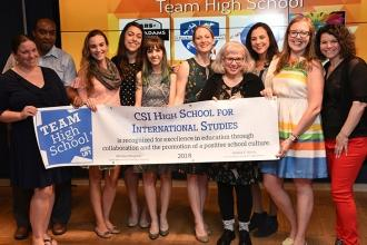 CSI HS for International Studies on Staten Island walked off with a Team High Sc